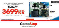 Call of Duty + PS4 3699 kr!
