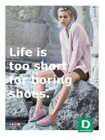 Erbjudanden från Deichmann, Deichmann - Life is too short for boring shoes
