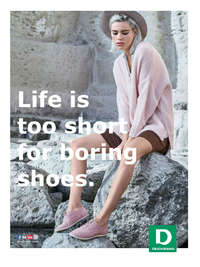 Deichmann - Life is too short for boring shoes